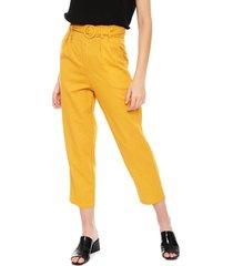 pantalón nrg amarillo - calce holgado