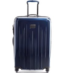 men's tumi v4 collection 26-inch expandable spinner packing case - blue