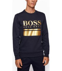 boss men's salbo slim-fit sweatshirt