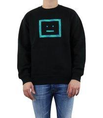 forba check face sweatshirts zwart