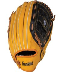 "franklin sports 12.5"" field master series baseball glove-left handed thrower"