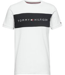 cn ss tee logo flag underwear t-shirts short-sleeved vit tommy hilfiger