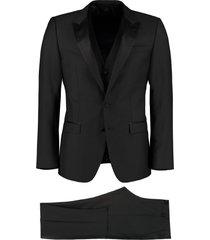 dolce & gabbana three-pieces wool suit