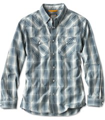 granite peaks shirt, dusty blue, xx large