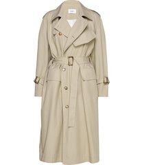 tatiana coat trenchcoat lange jas crème lovechild 1979
