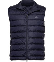 the light down gilet vest blauw gant