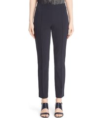 lafayette 148 new york gramercy acclaimed stretch pants, size 18 in ink at nordstrom