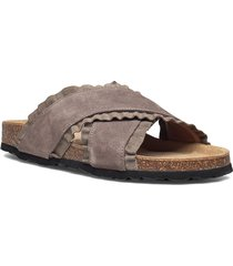 sandal shoes summer shoes flat sandals grå sofie schnoor