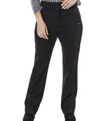 pantalon negro ancho mujer negro corona