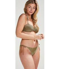 hunkemöller nice rio-bikiniunderdel vivian hoorn brun