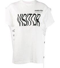 ambush cape t-shirt - white