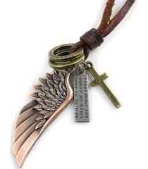 colar decovian asa bronze