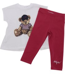jersey t-shirt & leggings set