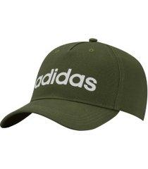 boné aba curva adidas daily - snapback - adulto - verde escuro