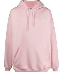 vetements logo-embellished hoodie