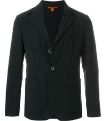 barena classic fitted blazer - black