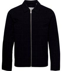 bobby 0008 blazer blazer jacket wit bomberjack jack blauw casual friday