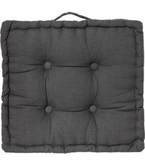 poduszka pufa siedzisko na podłogę kiki grey