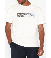 j lindeberg jordan-distinct cotton t-shirts & linnen cloud dancer