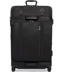 tumi merge 31-inch recycled extended trip expandable rolling suitcase - black