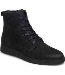bella shoes boots ankle boots ankle boots flat heel svart ecco