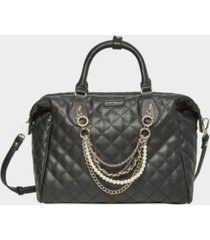 betsey johnson women's dressed up quilted satchel