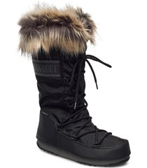mb monaco wp 2 shoes boots ankle boots ankle boot - flat svart moon boot