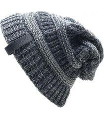 gorro de lana beanie kold j.gris flaw