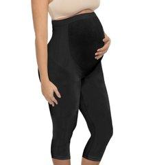 annette women's full coverage maternity capri legging