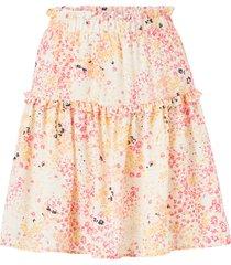 kjol vmhannah foil hw short skirt wvn