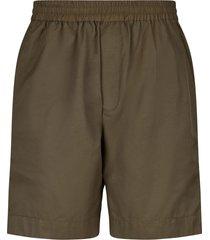 wood wood baltazar technical shorts - green