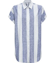 camicia lunga (argento) - rainbow