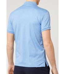 polo ralph lauren men's pima cotton slim fit polo shirt - soft royal heather - xxl