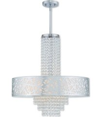 livex allendale 5-light pendant chandelier
