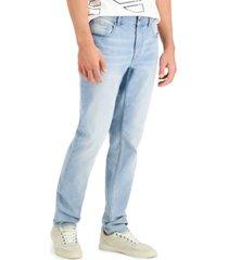 dkny men's bedford slim-fit stretch jeans