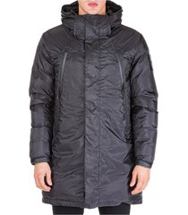 men's long outwear down jacket blouson ripstop warp 15