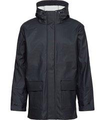 "raincoat ""penmarch"" regenkleding blauw armor lux"