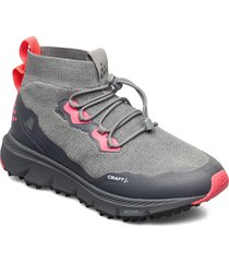 nordic fuseknit hydro mid w shoes sport shoes running shoes grå craft