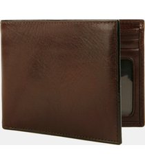 men's bosca leather bifold wallet -