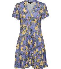 eloise meadw jrsy vnck dress dresses everyday dresses blå french connection