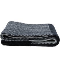 glitzhome men's knitted lined pattern scarf