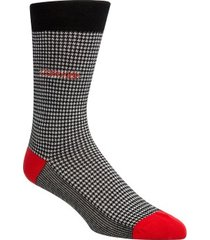 calvin klein elroy hounds tooth dress crew socks * gratis verzending *