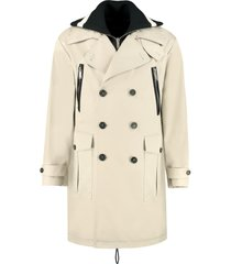 dsquared2 double-breasted trench coat