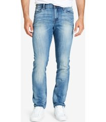 william rast men's slim straight fit dean jeans