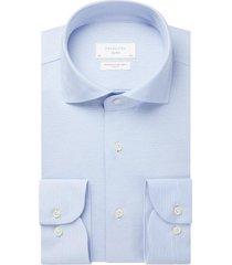 profuomo overhemd blauw slim fit ppsh1c1058/m