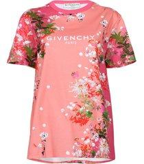 cherry blossom logo t-shirt