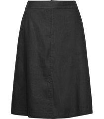 soleils knälång kjol svart masai