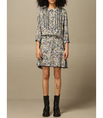 zadig & voltaire dress zadig & voltaire short dress with floral pattern