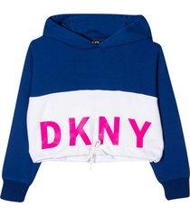dkny blue sweatshirt