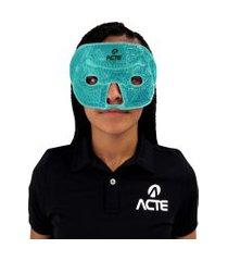 máscara facial total em gel acte r29-a esferas terapêuticas verde